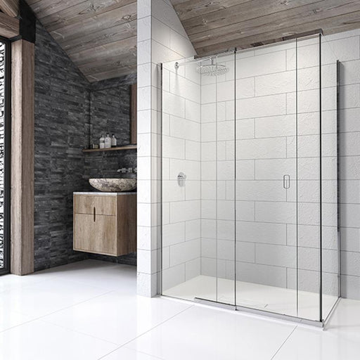 Kudos Pinnacle8 Sliding Door for Corner - Unbeatable Bathrooms