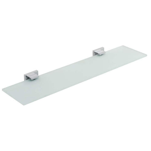 Vado Level 550mm Frosted Glass Shelf - Unbeatable Bathrooms