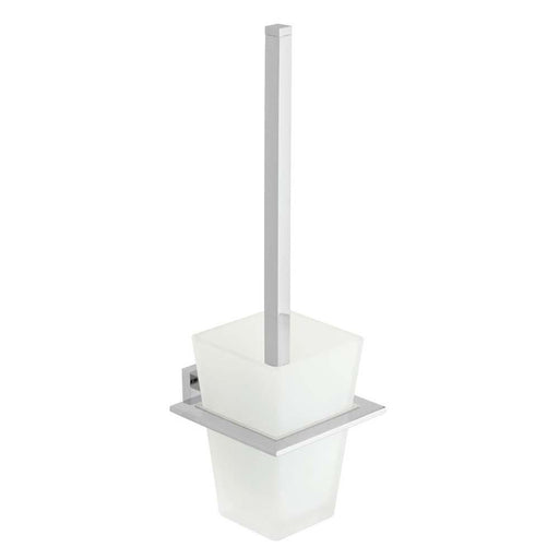 Vado Level Wall Mounted Toilet Brush & Holder - Unbeatable Bathrooms
