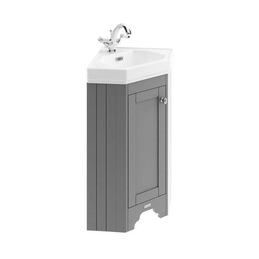 Hudson Reed Old London Corner Cabinet & Basin - Unbeatable Bathrooms