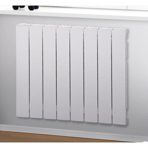 Zehnder Lyta S White Radiator - Unbeatable Bathrooms