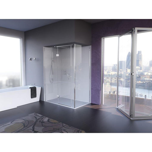 Matki Illusion for Corner Shower Enclosure with Integrated Shower Tray - Unbeatable Bathrooms