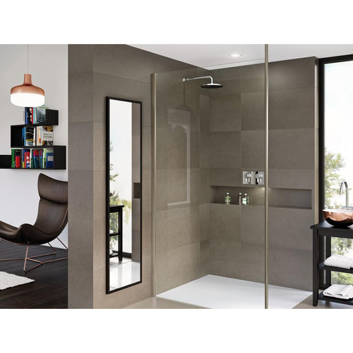 Matki-One Wet Room Panel with Ceiling Brace Bar - Unbeatable Bathrooms