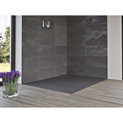 Matki Slate Flat Standard Shower Floor - Unbeatable Bathrooms
