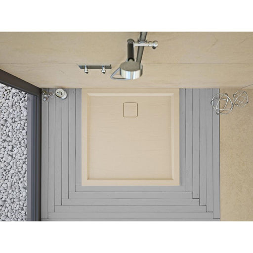Matki Slate Standard Shower Tray - Unbeatable Bathrooms