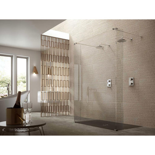 Matki Twin Entrance Wet Room Panel with Returns