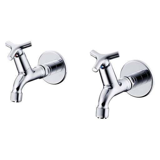 Armitage Shanks Nimbus 21 Bib Taps 1/2inch Anti Vandal Outlet Pair - Unbeatable Bathrooms