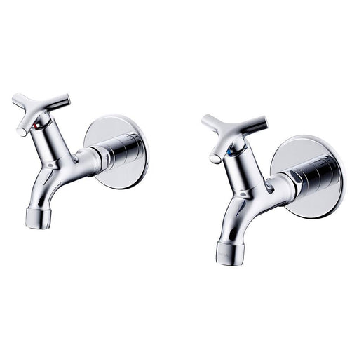 Armitage Shanks Nimbus 21 Bib Taps 1/2inch Anti Vandal Spray Outlet Pair - Unbeatable Bathrooms