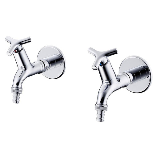 Armitage Shanks Nimbus 21 Bib Taps 1/2inch Hose Union Outlet Pair - Unbeatable Bathrooms