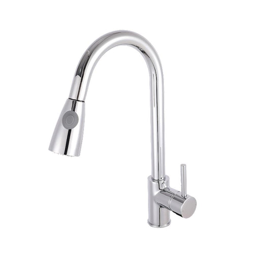 Nuie Side Action Kitchen Tap With Rinser - Unbeatable Bathrooms