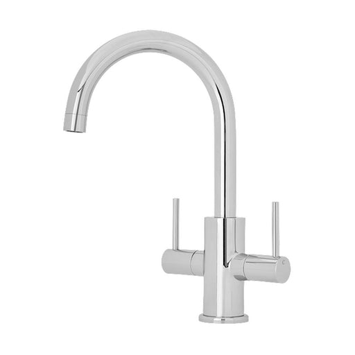 Nuie Two Handle Kitchen Mixer - Unbeatable Bathrooms