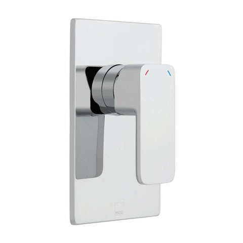 Vado Phase Square Back Plate Wall Mounted Concealed Manual Shower Valve - Unbeatable Bathrooms