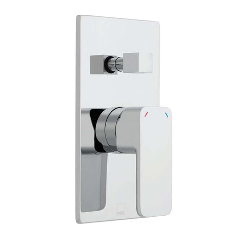 Vado Phase Wall Mounted Concealed Manual Shower Valve with Diverter - Unbeatable Bathrooms