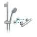 Vado Prima Thermostatic Slide Rail Shower Valve Package with Wall Mounting Brackets - Unbeatable Bathrooms