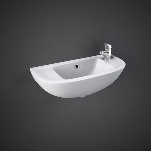 Rak Compact 45cm Slim Line Basin - Unbeatable Bathrooms