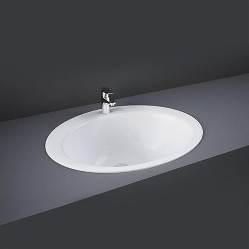 Rak Jessica Inset Countertop Basin 53cm Wide - Unbeatable Bathrooms