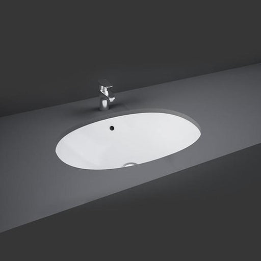 Rak Lily 46cm Under Counter Wash Basin - Unbeatable Bathrooms
