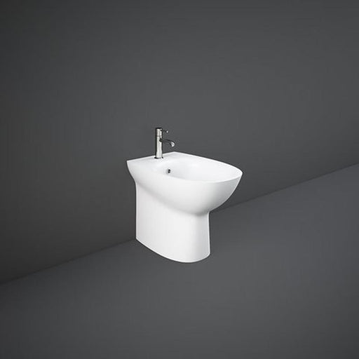 Rak Morning Back To Wall Bidet 52cm Projection - White - Unbeatable Bathrooms