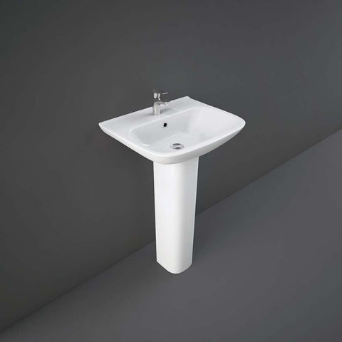 Rak Origin 1 Tap Hole 52cm Basin - Unbeatable Bathrooms