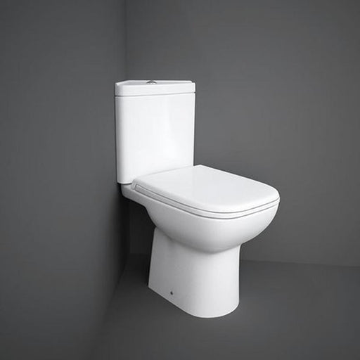Rak Origin 62 Corner Full Access Close Coupled Toilet Unit - Unbeatable Bathrooms