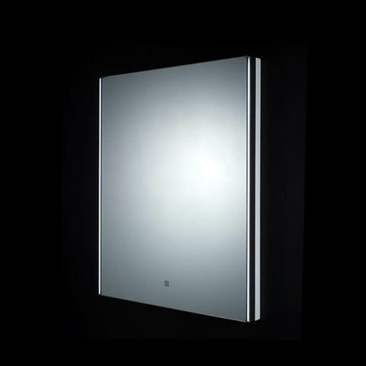 Rak Resort Led Mirror with Demister Pad and Shaver Socket - Unbeatable Bathrooms
