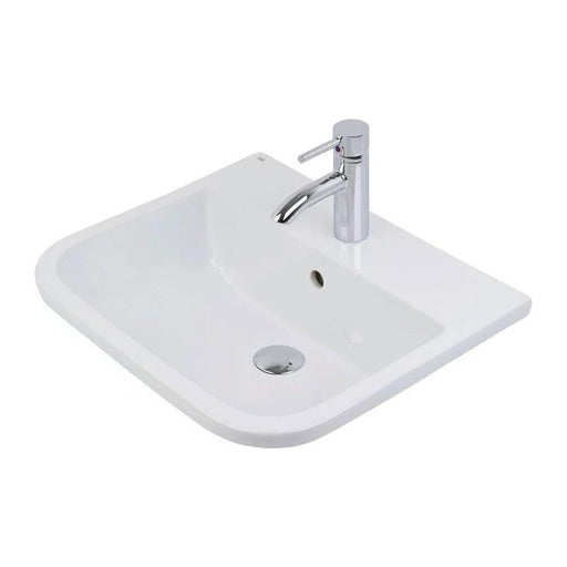 Rak Series 600 Inset Vanity Basin 50cm Wide - Unbeatable Bathrooms