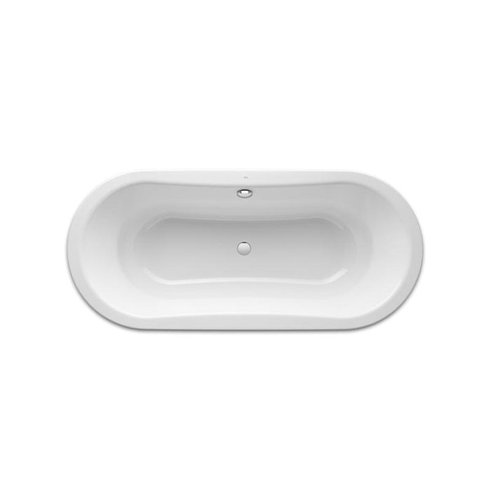 Roca Duo Plus 1800x800mm Freestanding Bath Tub with Anti-Slip A222575000 add 1