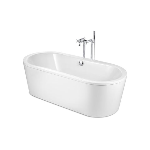 Roca Duo Plus 1800x800mm Freestanding Bath Tub with Anti-Slip A222575000