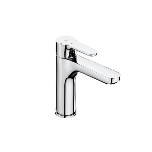 Roca L20 Medium Height Basin Mixer with Smooth Body - Unbeatable Bathrooms
