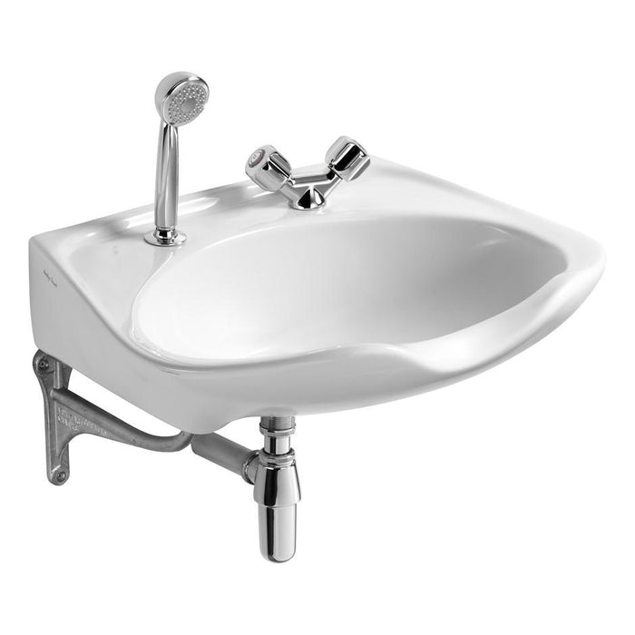 Armitage Shanks Salonex 61Cm Hairdressers Basin - Two Tapholes - Unbeatable Bathrooms