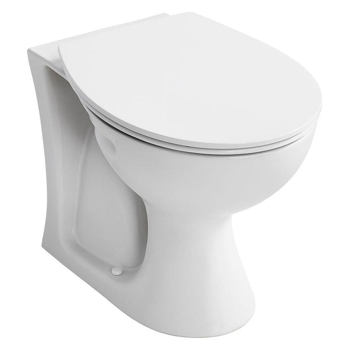 Armitage Shanks Sandringham 21 Back To Wall Wc Pan With Horizontal Outlet - Unbeatable Bathrooms