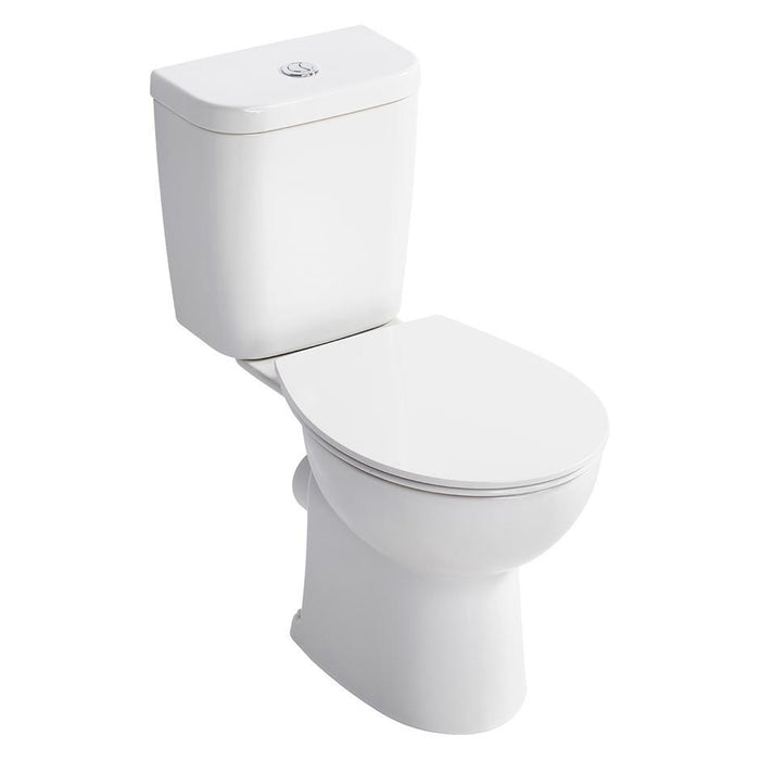 Armitage Shanks Sandringham 21 Smooth Close Coupled Wc Pan With Horizontal Outlet - Unbeatable Bathrooms