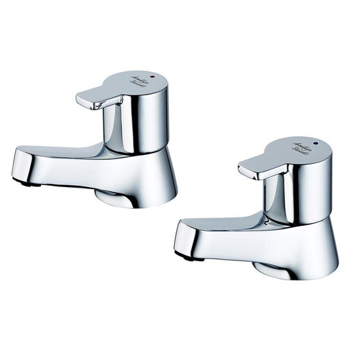 Armitage Shanks Sandringham Sl 21 Bath Pillar Taps 3/4inch, Pair - Unbeatable Bathrooms