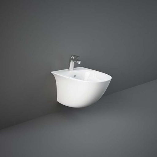 Rak Sensation 52cm Wall Hung Bidet with Hidden Fixations - Unbeatable Bathrooms