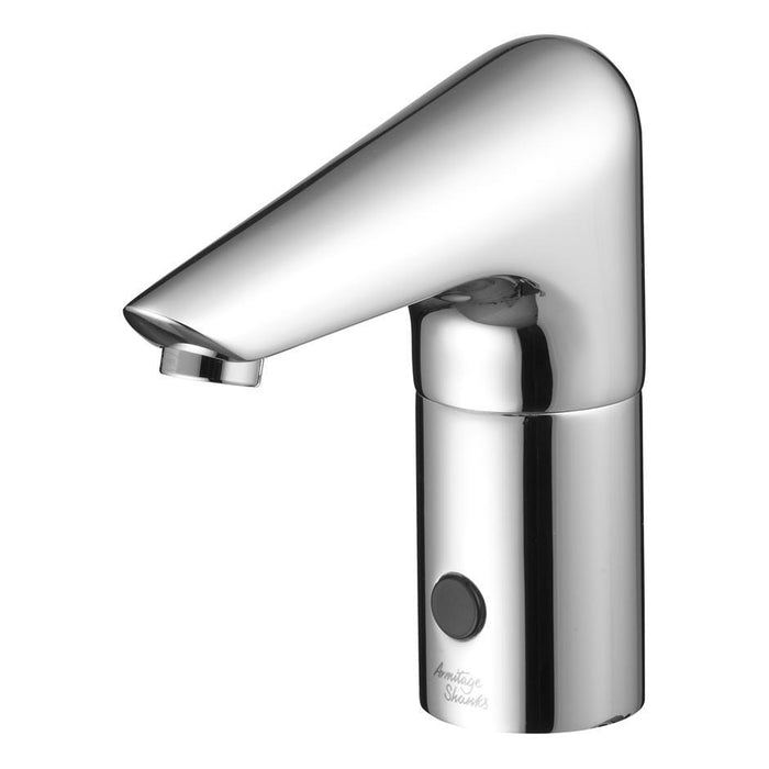 Armitage Shanks Sensorflow 21 Washbasin Mounted Tall Spout with Integral Sensor, Anti Vandal Laminar Flow Outlet, Copper Tube Inlet, Servicing Valve and Filter, Link - Unbeatable Bathrooms