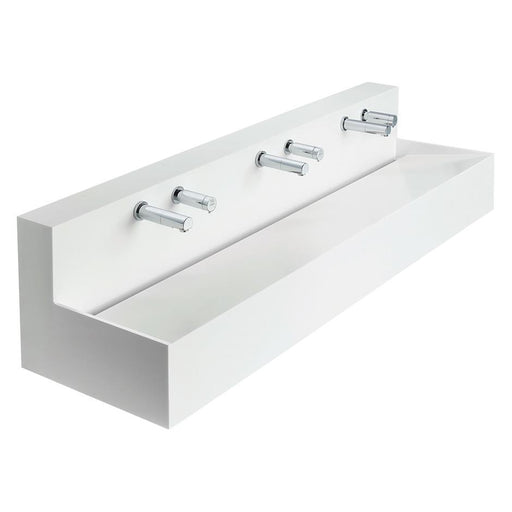 Armitage Shanks Silhouette 1200mm-1500mm Configurable Washtrough with Waste