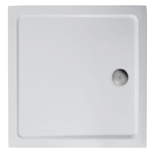 Ideal Standard Simplicity Low Profile Square Flat Top Shower Tray - Unbeatable Bathrooms