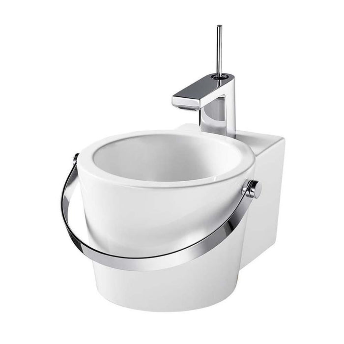 Sottini Amusa 30cm Handrinse One Taphole Wash Basin - Unbeatable Bathrooms