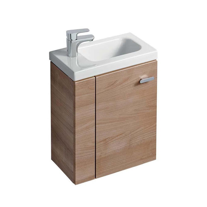 Sottini Chiani 45cm x 25cm Wall Hung Guest Basin Unit with L Shaped Door - Unbeatable Bathrooms