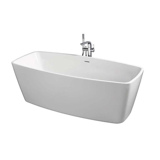 Sottini Crostolo Freestanding Bath Tub with Clicker Waste & Slotted Overflow - Unbeatable Bathrooms