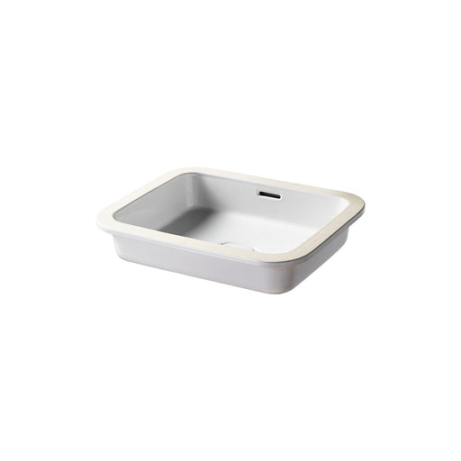 Sottini Fusaro 50cm Under-countertop Washbasin and Integral Clicker Waste - Unbeatable Bathrooms