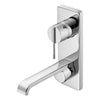 Sottini Mazaro Portrait Single Lever Built in Basin Mixer Kit 2 - Unbeatable Bathrooms