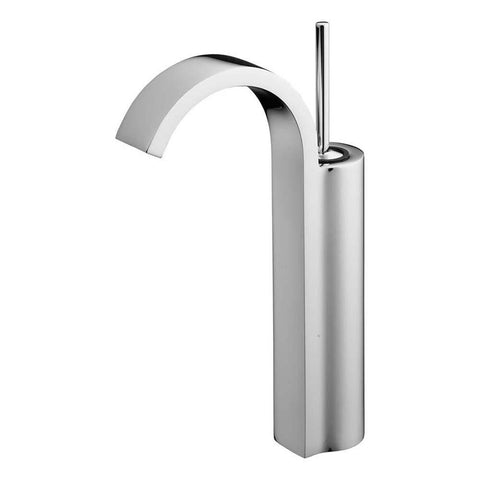 Sottini Mazaro Single Lever Tall Basin Mixer with Curved Spout - Unbeatable Bathrooms