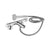 Sottini Rosita Dual Control Two Hole Bath Shower Mixer with Shower Set - Unbeatable Bathrooms