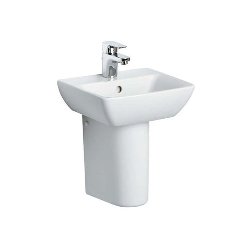 Sottini Santorini Bow 40cm Hand rinse Basin with One taphole - Unbeatable Bathrooms