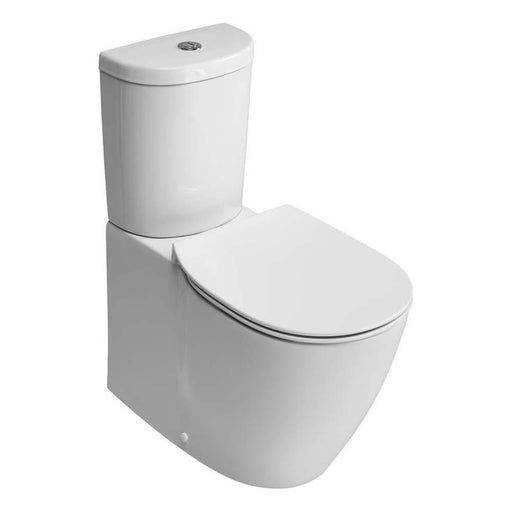 Sottini Santorini Close Coupled Back To Wall WC Unit with Aquablade Technology - Horizontal Outlet - Unbeatable Bathrooms