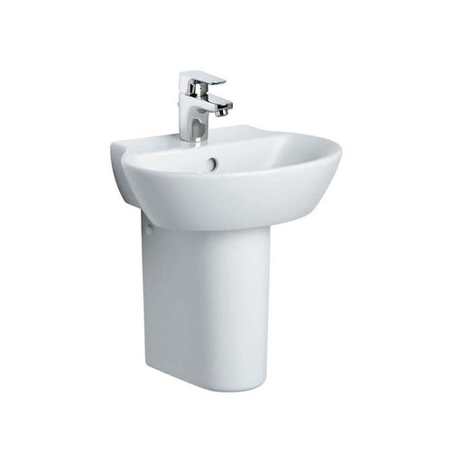 Sottini Santorini Ellipse 45Cm Hand Rinse Basin - One Taphole - Unbeatable Bathrooms