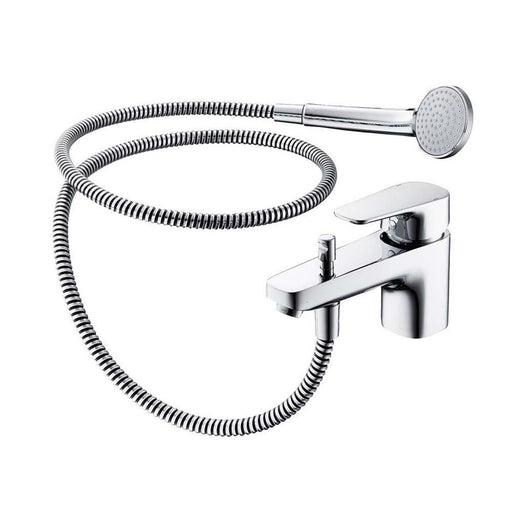 Sottini Tesino 1 Hole Chrome Bath Shower Mixer - Unbeatable Bathrooms