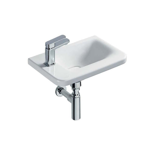 Sottini Turano 45 x 31cm Asymmetric Guest basin - Unbeatable Bathrooms