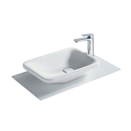Sottini Turano 55 x 40cm Asymmetric Vessel Wash Basin - Unbeatable Bathrooms